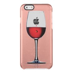wine glass iphone case uncommon clearly™ deflector iPhone 6 case