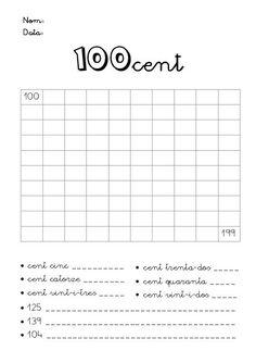 Numeració de 100 al 999 by Lila , via Slideshare