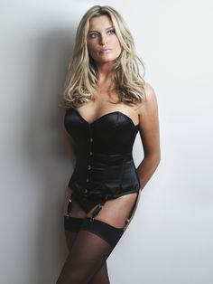 British model Tina Hobley