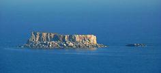 Filfa. An island off the island of Malta.