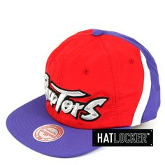 detailed look e40d6 6347a Mitchell   Ness - Toronto Raptors Anorak Snapback