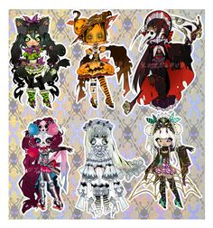 CLOSED: HALLOW'S EVE ADOPTABLE AUCTION by Lolisoup on deviantART