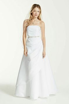 40 beautiful wedding gown ideas for short women fashion extra length satin a line wedding dress with asymmetrical skirt ivory 20 junglespirit Choice Image
