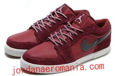 Acheter Chaussures Air Jordan Retro V.1 Team Rouge Noir Blanc  JordanAeroMania.com