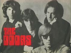 The Doors: Jim Morrison,  John Densmore, Robbie Kriger, Ray Manzarek