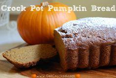 Crock Pot Pumpkin Bread!
