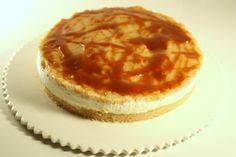 #Cheesecake aux #pommes et #caramel au #beurre #salé