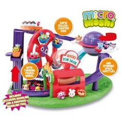 Buy Micro Moshi Monster Theme Park Playset from our Animal Figures range - Tesco.com