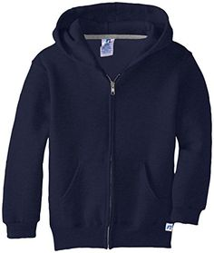 Russell Athletic Big Boys' Fleece Full Zip with Hood * Read review @