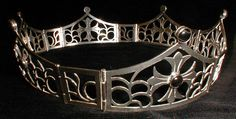 Like for hinges, small panel alernating Baronial Coronet #4