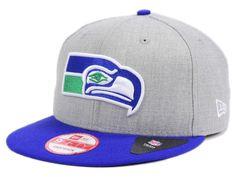 6a367f77f Seattle Seahawks New Era NFL Kids Heather 2 Tone 9FIFTY Snapback Cap