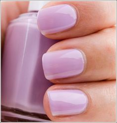 This is another Essie nail polish! This is a great color! Love Nails, How To Do Nails, Pretty Nails, My Nails, Essie Nail Polish, Nail Polish Colors, Uv Gel Nagellack, Lavender Nails, Lilac Nails