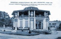 Pavillon des Grands Magasins du Louvre - Exposition Arts décoratifs Paris 1925