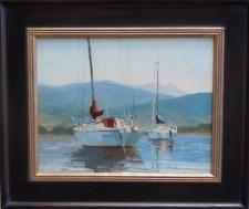 Morning Harbor by Kate Kiesler
