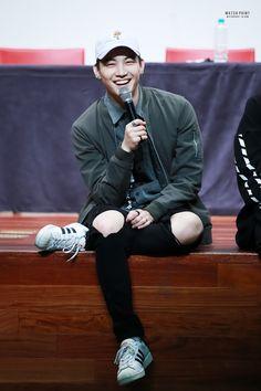 My happy leader , JB, GOT7