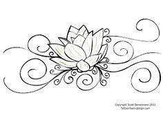 Lotus flower tattoo designs for women   Like Tattoo