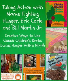 {Kid's Co-Op} Children's Book-Related Activities + Some Hunger Action Month Inspiration from The Good Long Road