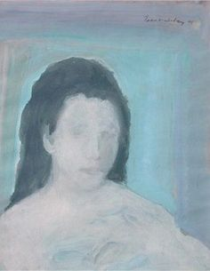Girl with dark hair - SOLD