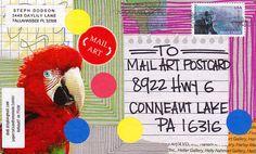 Online Mail Art Postcard Exhibition