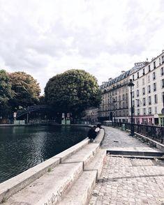 #Paris #Canalsaintmartin  Instagram photos and videos from Kate Devine • Paris (@deareverest)