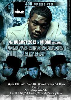 Cazz tha DJ's Photo: Dj's @DJCAZZSA @INPHASeDJ @StaboyStan @DJ_JOVIES @iamrokdj @crazzyb15|Old Vs New Skool/frm Wutang 2 meekmil|Hiphop/kwaito/House/dancehall/electro|c poster 4more info | Lockerz