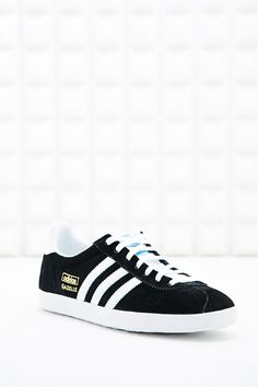 Adidas Gazelle Suede Trainers in Black