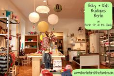 Recently opened baby/children's boutique in Prenzlauer Berg, with a high end selection of nursery furniture, toys and accessories for the little ones. More photos and info on www.berlinforallthefamily.com