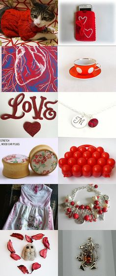 Great red! by Irina Bevza on Etsy--Pinned with TreasuryPin.com