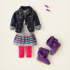 baby girl-dresses,i like the boots Outfits Niños, Teen Girl Outfits, Cute Outfits For Kids, Baby Girl Dresses, Toddler Outfits, Fashion Outfits, Little Girl Fashion, Toddler Fashion, Kids Fashion