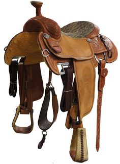16 Quot Double T Pleasure Style Saddle With Floral Tooled