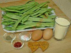 Mısır Unlu Taze Fasulye Kızartması İçin Gerekli Malzemeler Celery, Green Beans, Yogurt, Vegetables, Food, Essen, Vegetable Recipes, Meals, Eten