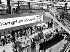 The Bull Ring Centre in 1978