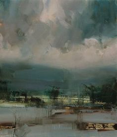 Sent from the Skies by Tibor Nagy Oil ~ 15,7 x 11,8