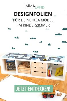 The IKEA Kallax series Storage furniture is an important part of any home. Fashionable and wonderfully simple the rack Kallax from Ikea , for example. Ikea Kids, Baby Room Themes, Baby Room Diy, Baby Boy Rooms, Ikea Outlet, Ikea Childrens Kitchen, Baby Room Curtains, Ikea Nursery, Baby Room Neutral