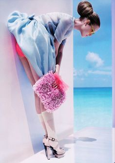 Fashion photography (Suvi Koponen/Vogue UK February 2008)