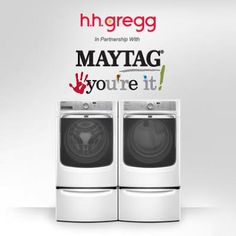 One MayTag Washer Dryer Combo Will Be Given Away Every Day in May Enter 3x Daily to WIN it