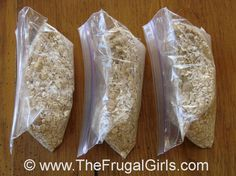 Oatmeal Packets Homemade Ideas Tips