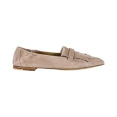 Ballerina aus Velourleder, Sacchetto-Machart, Farbe nude Ballerina, Boutique, Loafers, Accessories, Shoes, Fashion, Color, Moda, Ballet Flat