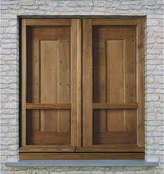 CMB Infissi mod. Retrò finestra in legno