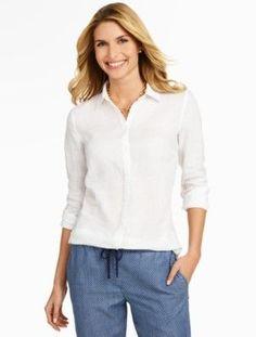Talbots: Linen Shirt