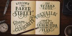Font of the day: Baker Street | Typography | Creative Bloq