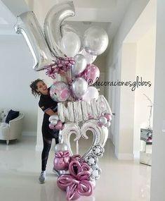 Sweet 16 . . . Diseño exclusivo de @by_nieves creadoras de @decoracionesglobos #regalaysorprende #balloondecor #balloonparty . MIAMI (786)779.75.23 CARACAS ☎️(0212) 7503430 (0424)2697110 Cc Galerias Avila Nivel acceso DECORACIONES GLOBOS Tienda 02127503430 . . . . #balloon #balloons #art #talentovenezolano #diseñovenezolano #hechoenvenezuela #talentonacional #arreglodeglobos #cumpleaños #globos #arreglos #decoracionesconglobos #balloondecoration #balloonsdecorations #regalo #sur...