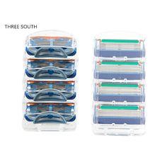 Dorcoカミソリ刃8ピース/ロットシェービングブレード用シェービング男性高速配信、最高品質カセットシェービングカミソリ標準