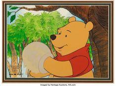 レイム・オー コレクション: 2018 December Animation Art Signature Auction Pooh's Grand Adventure, Winnie The Pooh, Walt Disney, Disney Characters, Fictional Characters, Auction, Animation, Hand Painted, Winnie The Pooh Ears