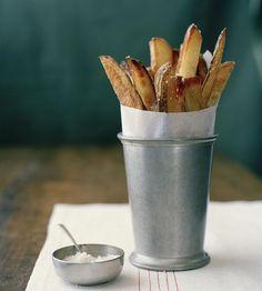 Garlic Herb Baked Potato Wedges Recipe