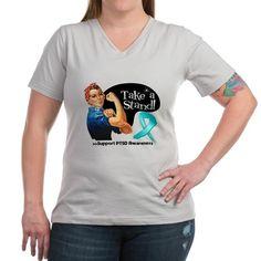 PTSD Stand Shirt on CafePress.com