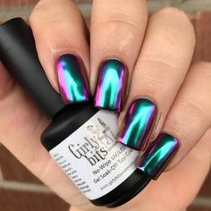 Wizardry - SFX Multi-chrome powder (teal/blue/purple/pink/gold) (1gr) by Girly Bits Cosmetics Our multi-chrome powders are easy to use, smooth and shifty, and a little goes a LONG way!! Using a gel polish base will give you the smoothest base for a flawless application, but they can also be used over regular nail polish. If using over regular polish, follow the same application method below, but you MUST seal it in with a water based top (or base) coat to preserve the chr...