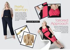 Plus size icon Claire Richards is the new ambassador of Fashion World #ClaireRichardsFW