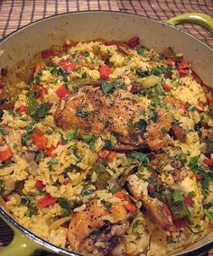 Chicken and Rice-One Pot Wonder Recipe #chicken #onepotrecipes #rice