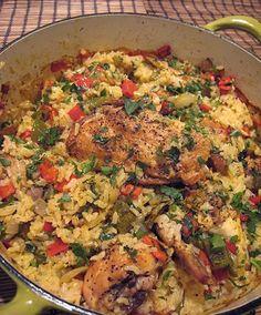 Chicken and Rice-One Pot Wonder Recipe #chicken #onepotrecipes #rice